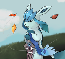 Brace Your Glaceon by bartoke