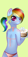 Birthday cake. by Schasti