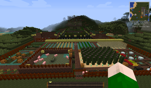 MC Kor Caladur - Base with Farm by Leichenengel