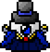 Pixeled Overseer - OC by VillainVoices