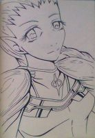Claymore 4 Ophelia lineart by Snappedragon