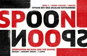 Spoon Fake Gig Poster by goodmorningvoice
