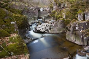 Bracklinn Falls by FlippinPhil