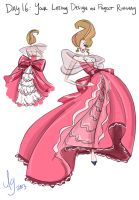 Day 16: Your Losing Design On Project Runway by kuabci