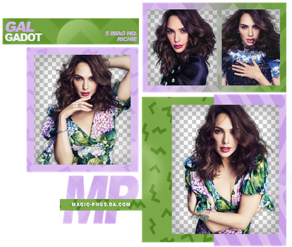 PACK PNG 969|GAL GADOT by MAGIC-PNGS