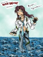 Revy from the Black Lagoon by RadStratRadar