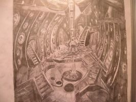 TARDIS interior by DocsCompanion