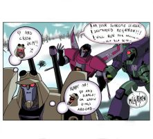 idiots... part 2 -Blitzwing- by arok318