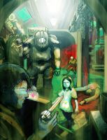 Bioshock by InfernoArchon