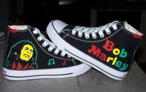 Custom Shoes: Rasta - 1 by kustom-kicks