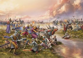 Battle of Mohacs by SzenSzen