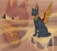 Bastet by Mazzy-elf