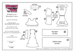 Monster High FL Draculaura dress pattern PART 1 by TheUkelele