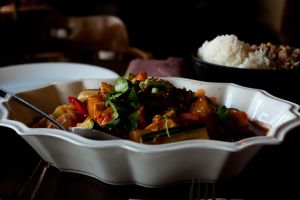 Delicious Thai Red Curry by draxxion