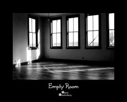 Empty Room - Black and White by amdillon