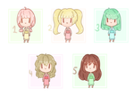 10 point tiny adopts [OPEN] by pikyuuu