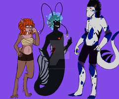 In Need of Name but Look Characters For a Comic by Agent42Kisa