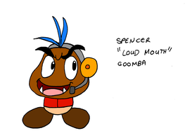 Spencer -Loud Mouth- Goomba by Aso-Designer