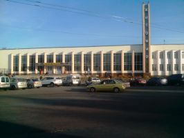 Building of the railway station, Zhytomir by FCSD