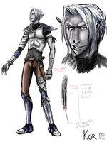 Kor - 1st sketches by Carmalicious