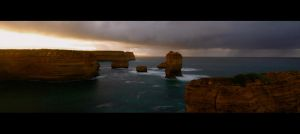 Great Ocean Road Storm by Thrill-Seeker