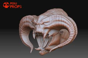 Peruprops Balrog 003 by raultumba