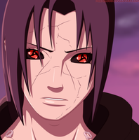Uchiha Itachi by HulfBlood