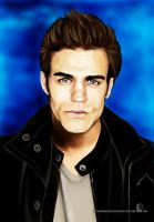 Stefan Salvatore by vampirekingdom
