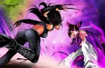 This is the End for you X-23 by Seonidas