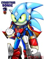 Cybertron Sonic Color by Rafeal