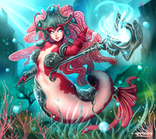 Nami Koi League of Legends by hotbento
