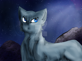 Bluestar by brindlesongart
