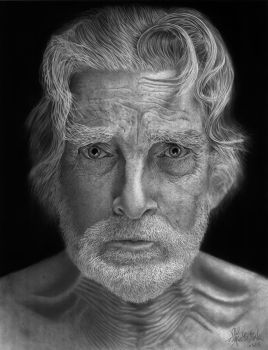 Portrait of The Old Dancer by chong-yi
