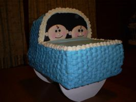 Bassinet cake by Robison300