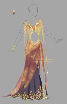 Outfit design adopt - 8 - Closed by Sellenin