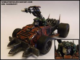 Ork Warbuggy by wibblethefish