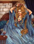 Leda-Valentyne O. Shields - Gold and Wine by Calicot-ZC