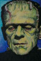 Karloff Monster by monsterman1965
