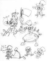 AX Skullgirls Dump 4 by Inkblot-Rabbit