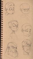 Sketchbookery part dew by DanielAraya