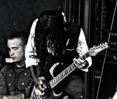 Motionless In White - Warped Tour 2012 by kml91225