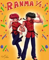 Ranma and Ranma by Animaker131