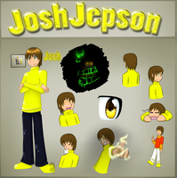 JoshJepson Reference Sheet by OmegaSam7890