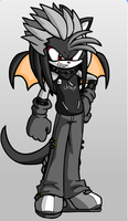 monster x the hedgehog by RAGEZILLA2012