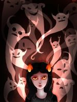 Haunted Aradia by OBatCatGirlO