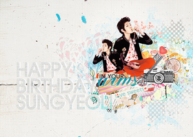Sungyeol Pre-Birthday by pocket-girl