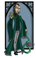 Salazar Slytherin by kissyushka