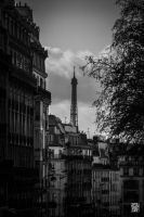 Eiffel Tower by sylvaincollet