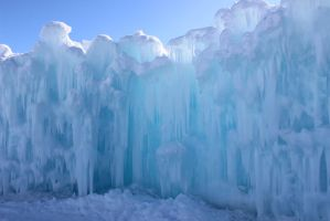 Winter Scenes - Ice Castle Wall2 by Qrinta