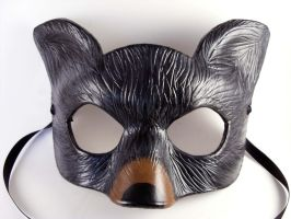 Bear Spirit Animal Mask by LucyLovesLeather